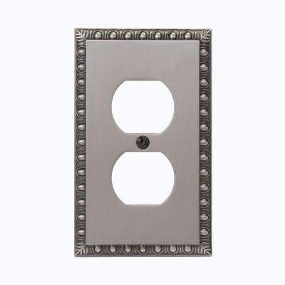 Renaissance 1 Duplex Wall Plate - Antique Nickel