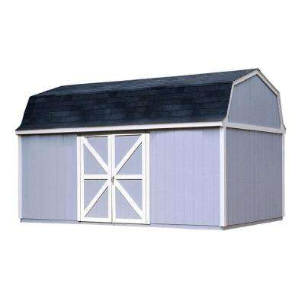 Berkley 10 ft. x 16 ft. Wood Storage Building Kit