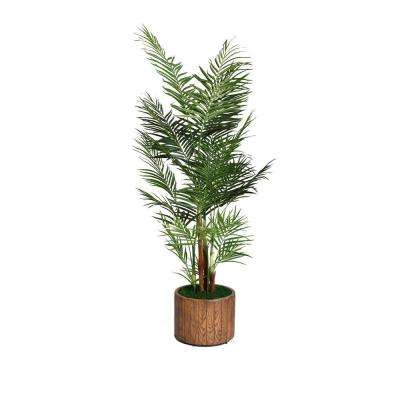 73 in. Tall Palm Tree in 16 in. Fiberstone Planter