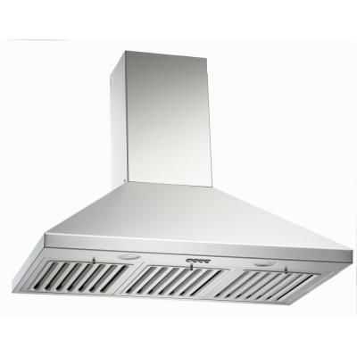 30 in. Wall Mount Range Hood in Stainless Steel with 3-Speed QuietMode with LED Lights