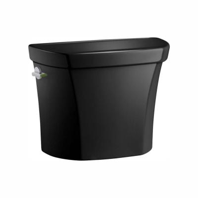 Wellworth 1.1 or 1.6 GPF Dual Flush Toilet Tank Only in Black