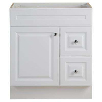Glensford 30 in. W x 22 in. D Bathroom Vanity Cabinet in White