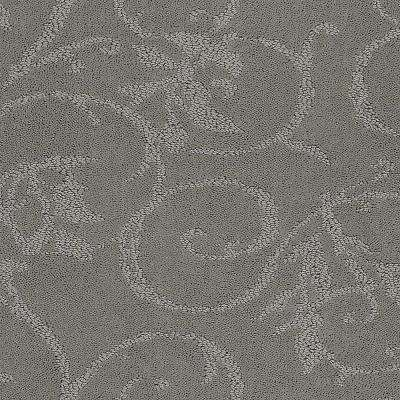 Carpet Sample - Cheriton - Color Grey Cloud Pattern 8 in. x 8 in.
