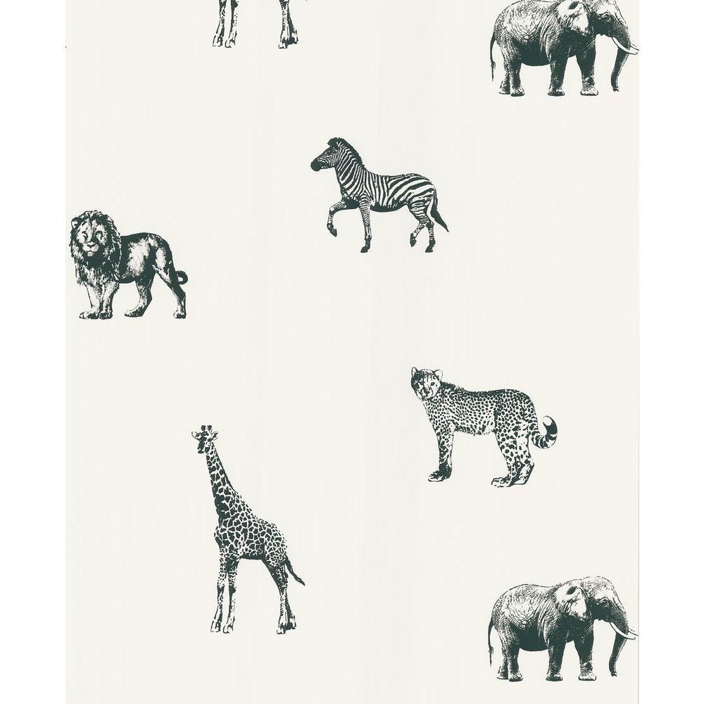 National Geographic 56 sq. ft. Safari Wallpaper