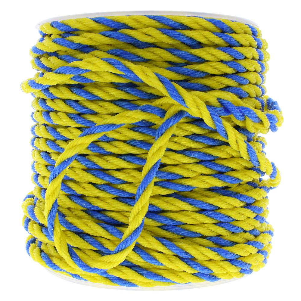 Ideal 3/8 in. x 250 ft. Pro-Pull Polypropylene Rope