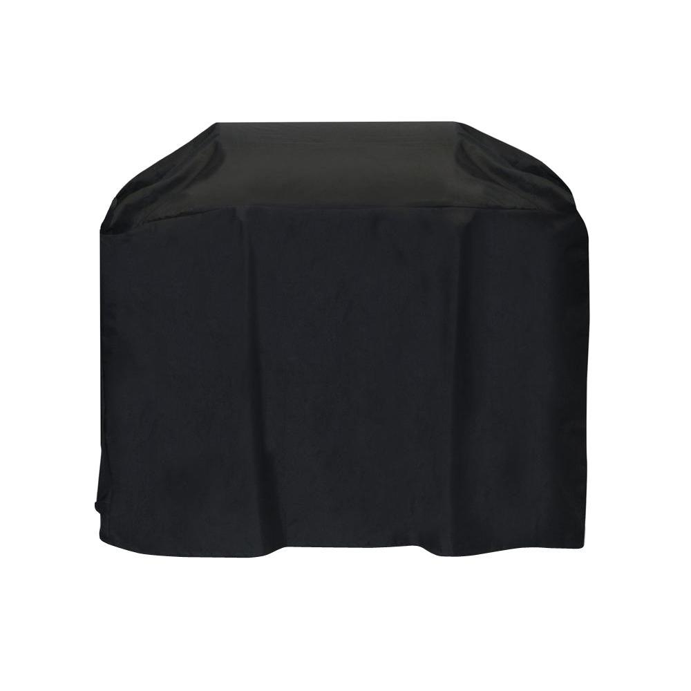54 in. Cart Style Grill Cover in Black