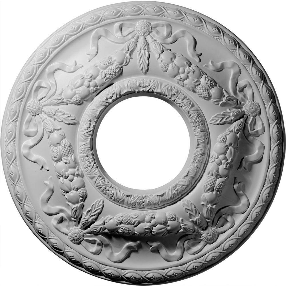 Ekena Millwork 22-1/8 in. Hurley Ceiling Medallion