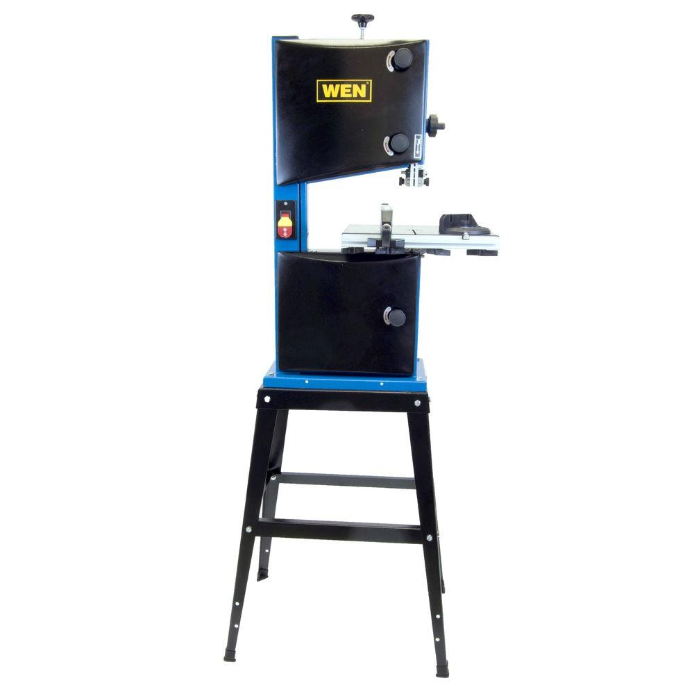WEN 10 in. Band Saw with Stand