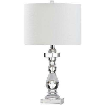 Delta 27.5 in. Clear Table Lamp