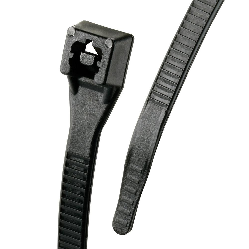 Gardner Bender Xtreme 11 in. Cable Tie, Black 50 lb. 20-Pack (Case of 10)