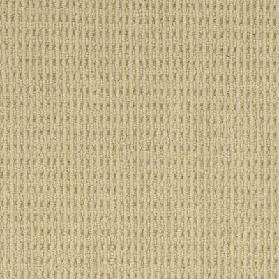 Carpet Sample - Savanna - Color Dusty Yellow Loop 8 in. x 8 in.
