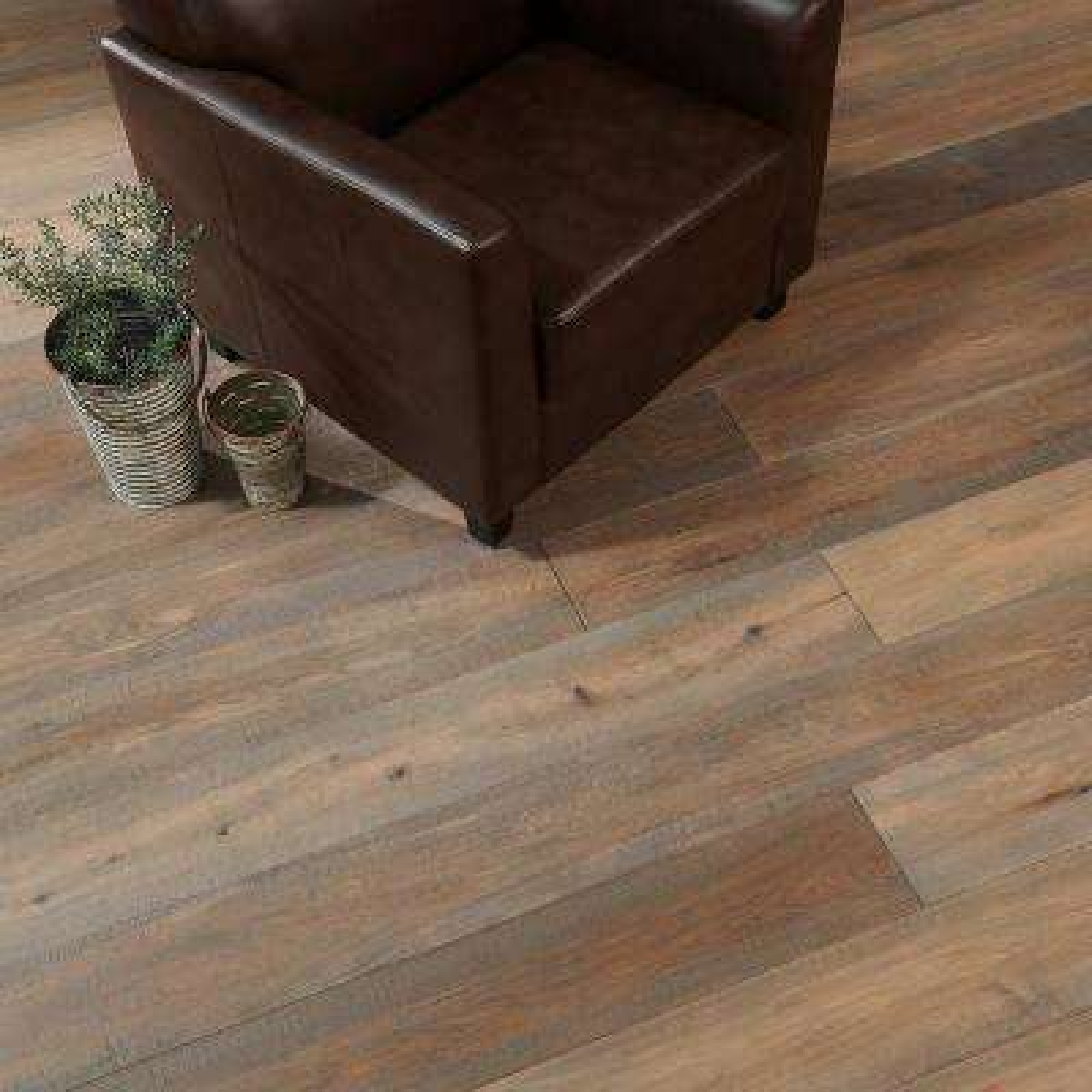 Take Home Sample - Manchester Oak Engineered Hardwood Flooring - 7-31/64 in. x 8 in.