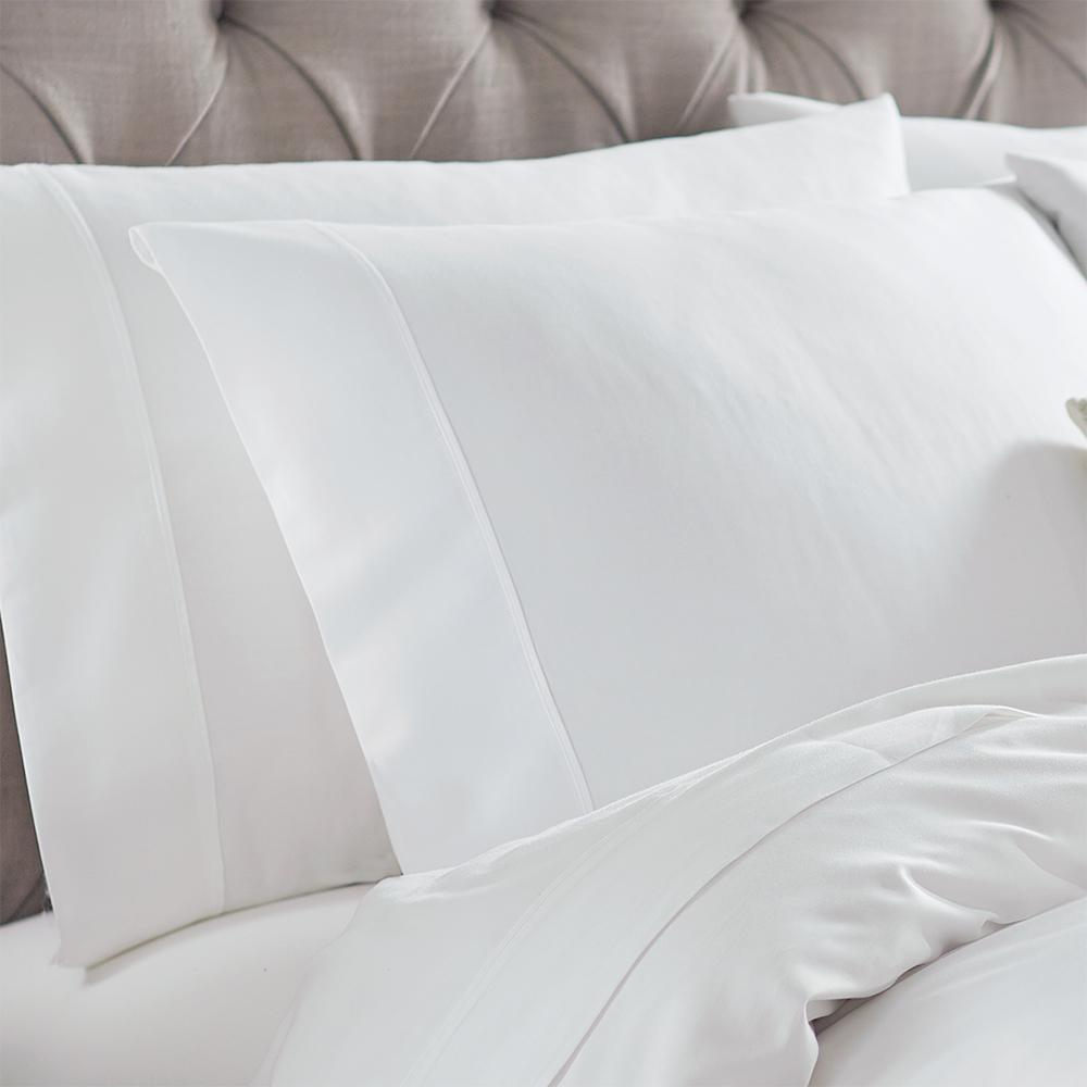 Naples White King Pillowcases (2-Pack)