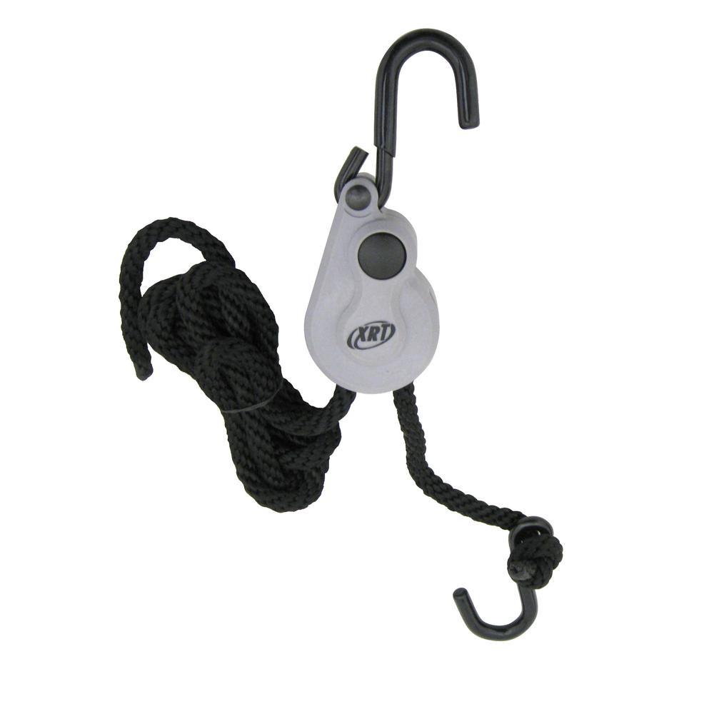 1/4 in. x 8 ft. XRT Rope Lock Push Button Release 150 lb. Break Strength