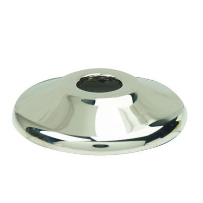 1/2 in. Nominal (5/8 in. O.D.) Shallow Escutcheon for Copper Pipe in Polished Nickel