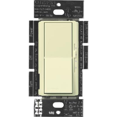Diva Fan Control and Light Switch for LEDs, CFL's, Incandescent and Halogen, Almond