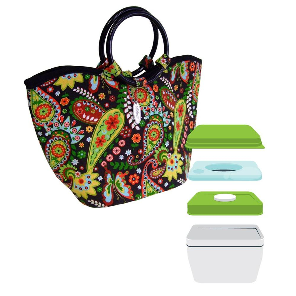 Fit & Fresh Nantucket Insulated Designer Lunch Bag- DISCONTINUED -DISCONTINUED
