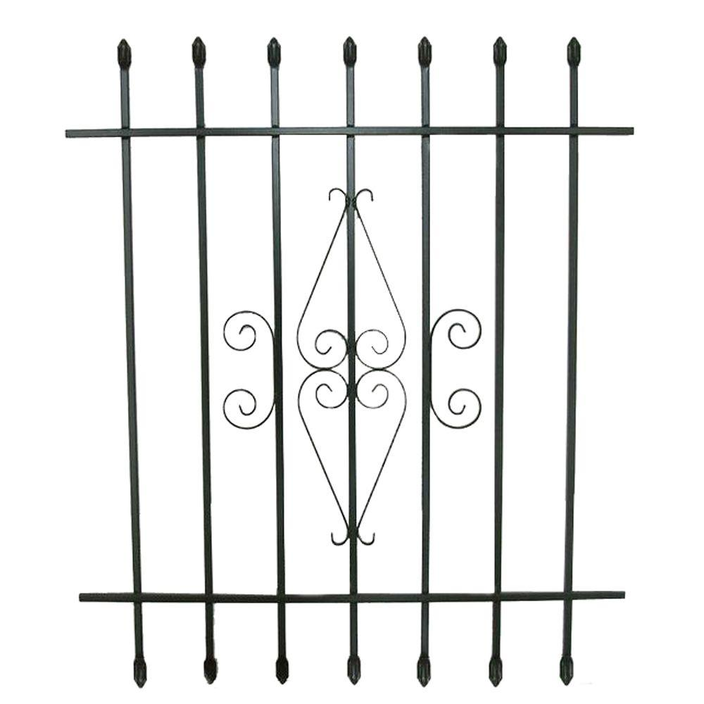36 in. x 42 in. Spear Point Window Bar Guard