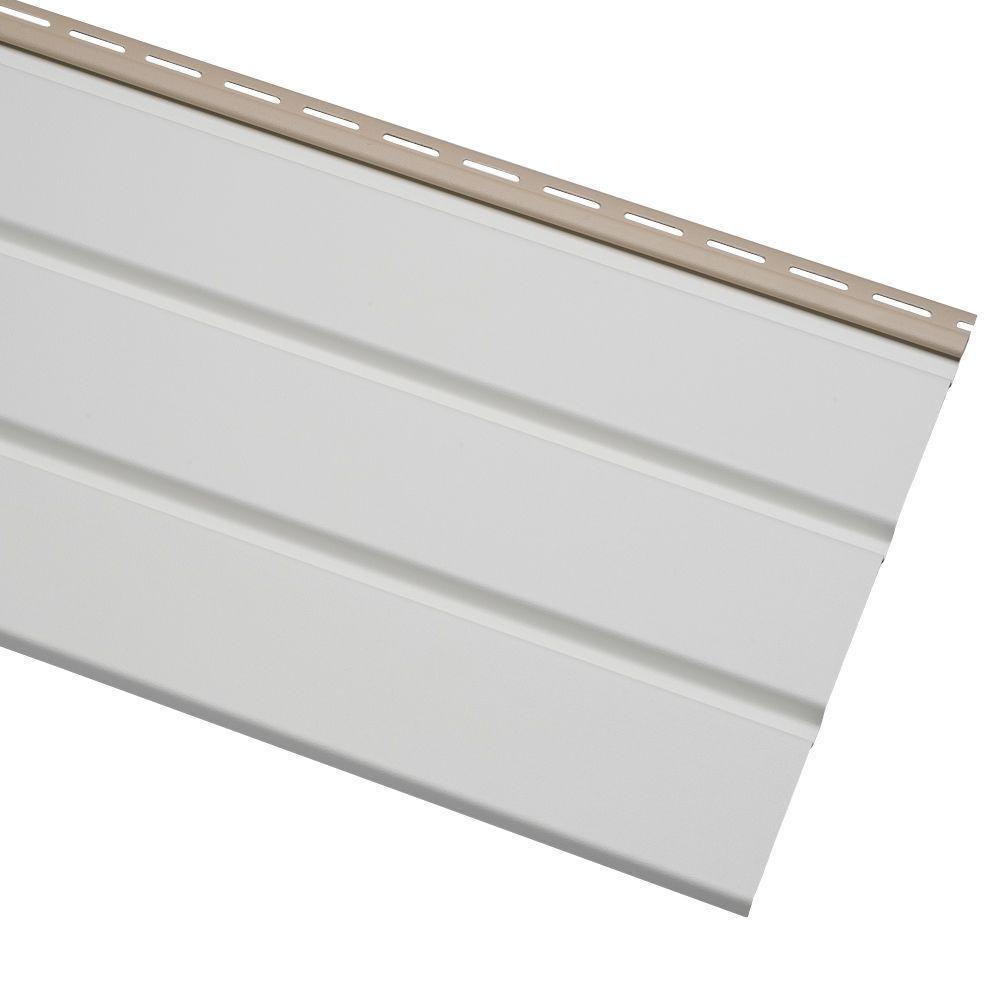 Ply Gem Economy T4 12 75 In X 12 Ft White Vinyl Solid