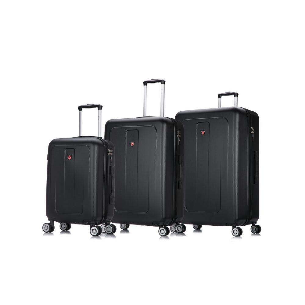 Crypto 20 in./28 in./32 in. Black Lightweight Hardside Set (3-Piece)