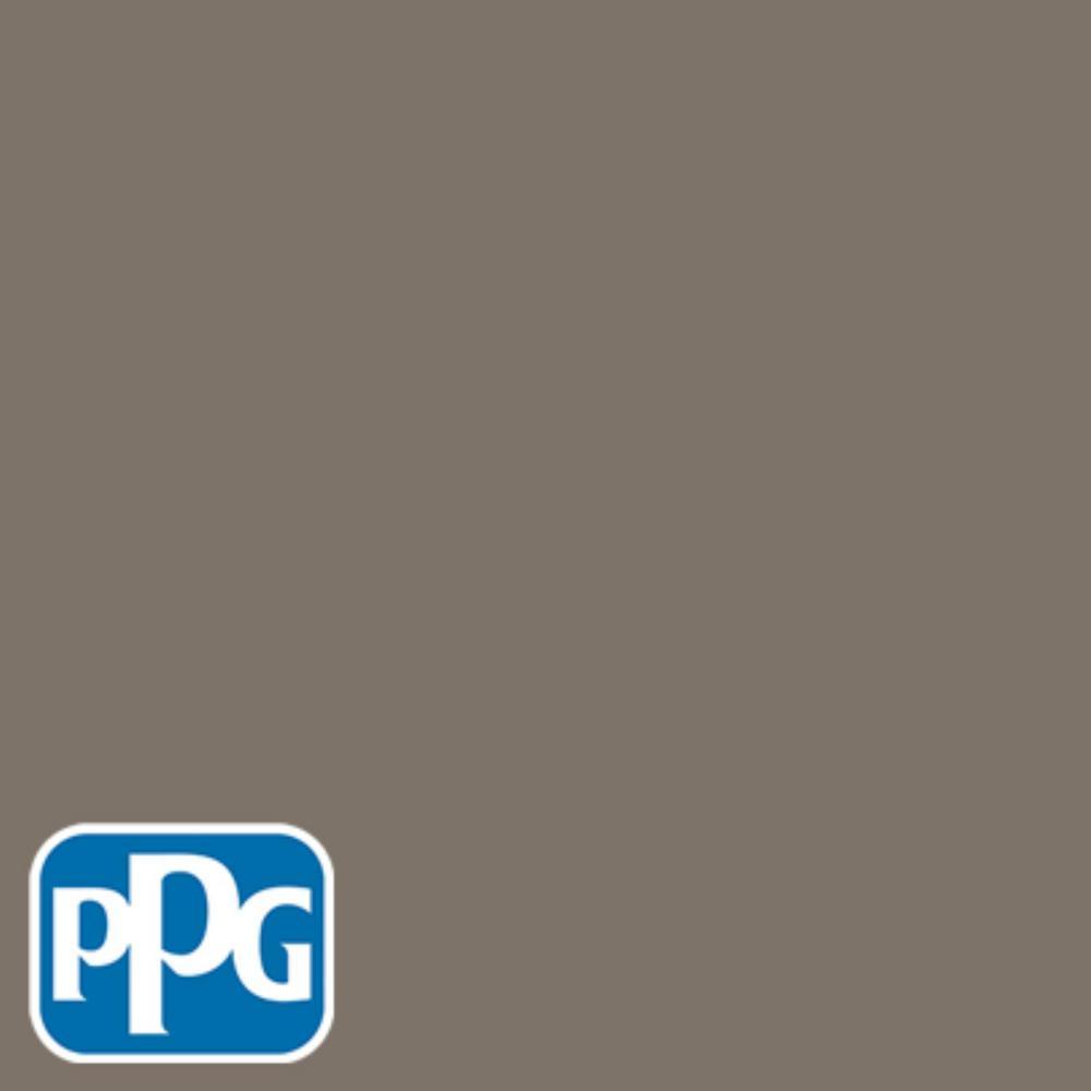 PPG TIMELESS 8 oz. #HDPPGWN26D Cedar Brown Eggshell Interior/Exterior Paint Sample