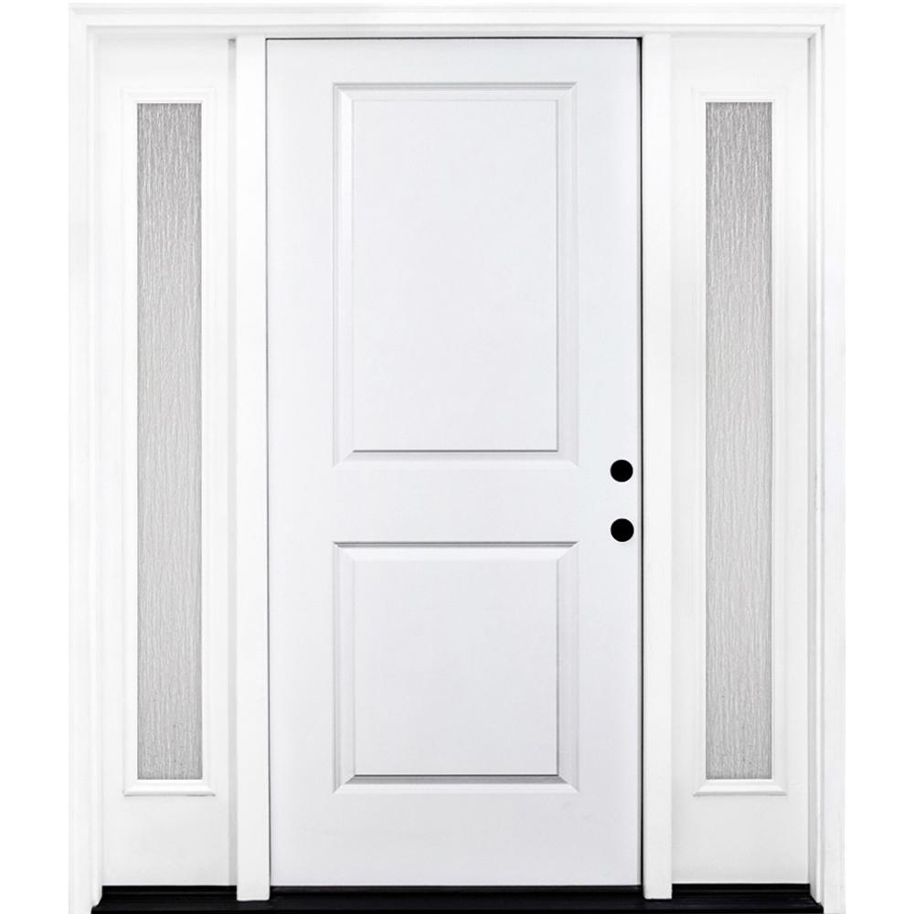 Steves sons 60 in x 80 in classic 2 panel lhis primed for 10 panel glass door