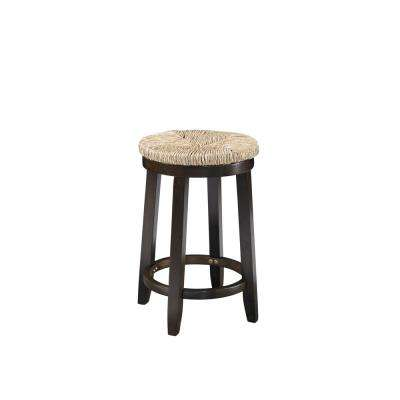 Mitchell 24 in. Brown Counter Stool