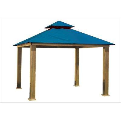 14 ft. x 14 ft. Pacific Blue Gazebo
