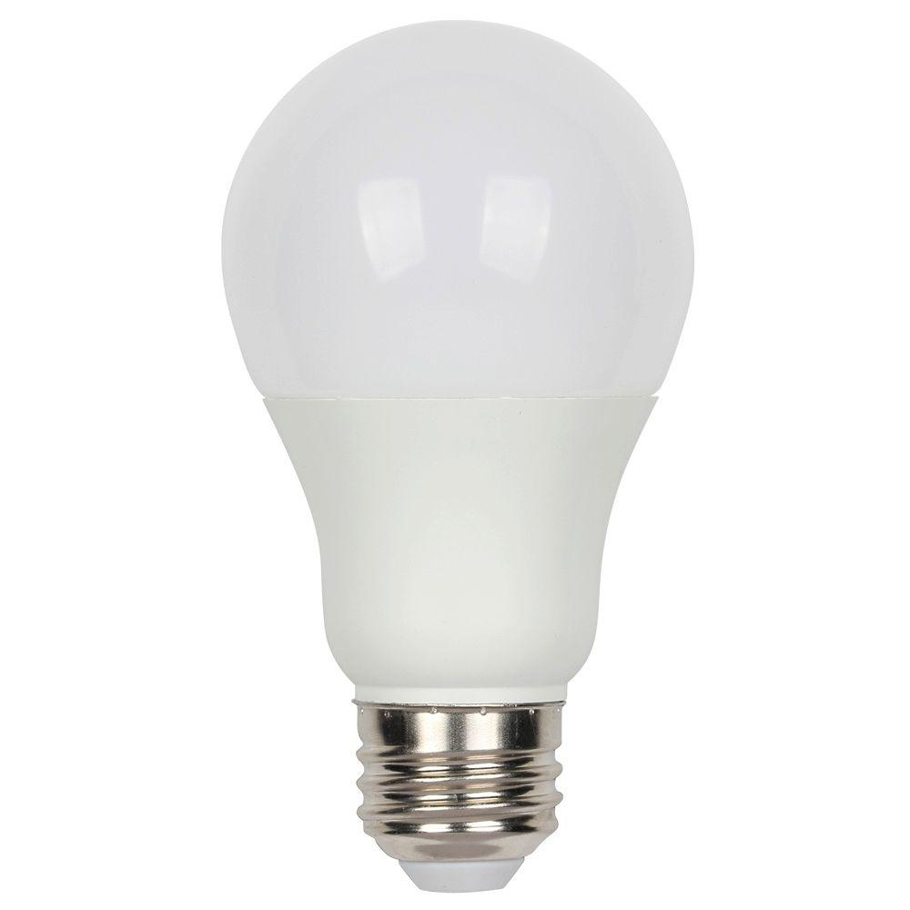 Westinghouse 60w Equivalent Daylight A19 Omni Dimmable Led Light Bulb 3309700 The Home Depot