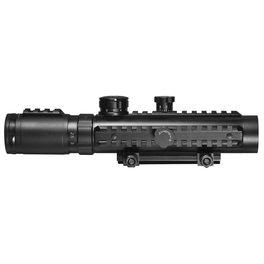 Electro Sight 1-3x30 Illuminated Reticle Riflescope