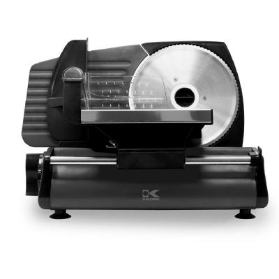 Professional Style 180 W Black Stainless Steel Food Slicer