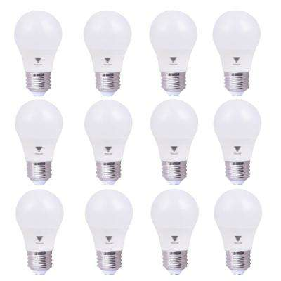 6.5-Watt A15 LED Appliance Light Bulb Soft White (12-Pack)