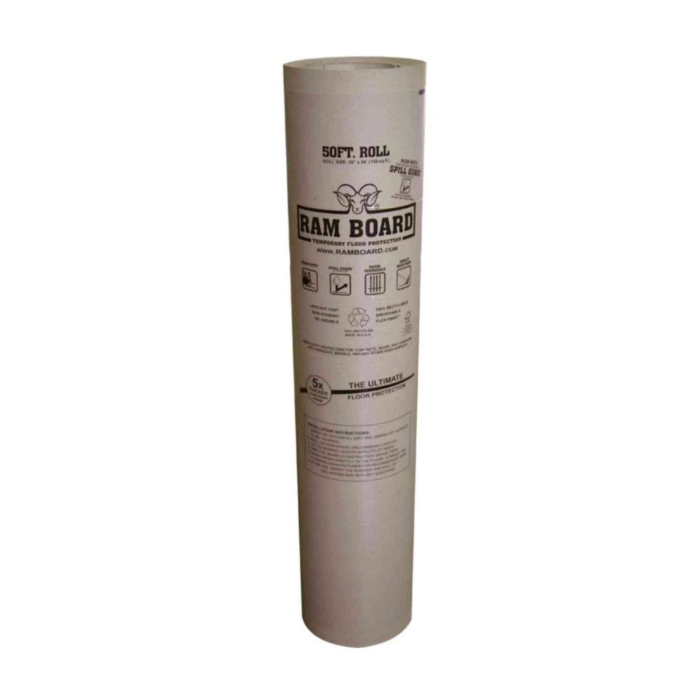 Ram Board 38 In X 50 Ft Temporary Floor Protection Roll