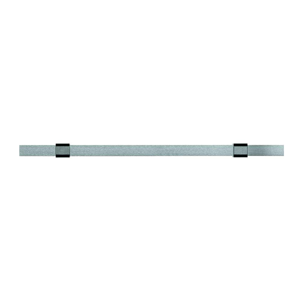 Rosle Standard Rail 50 cm with Wall Attachments