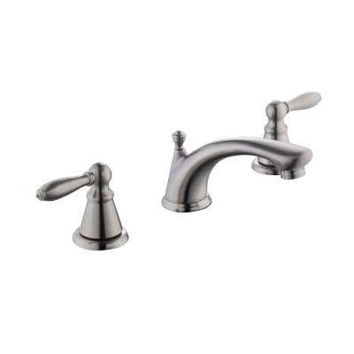 2500 Series 8 in. Widespread 2-Handle Bathroom Faucet in Brushed Nickel