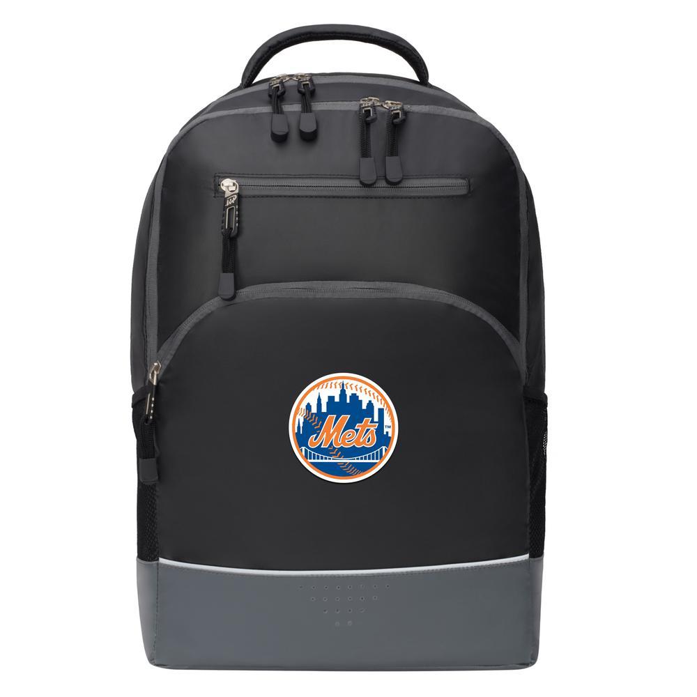 Mets 19 in. Black Alliance Backpack
