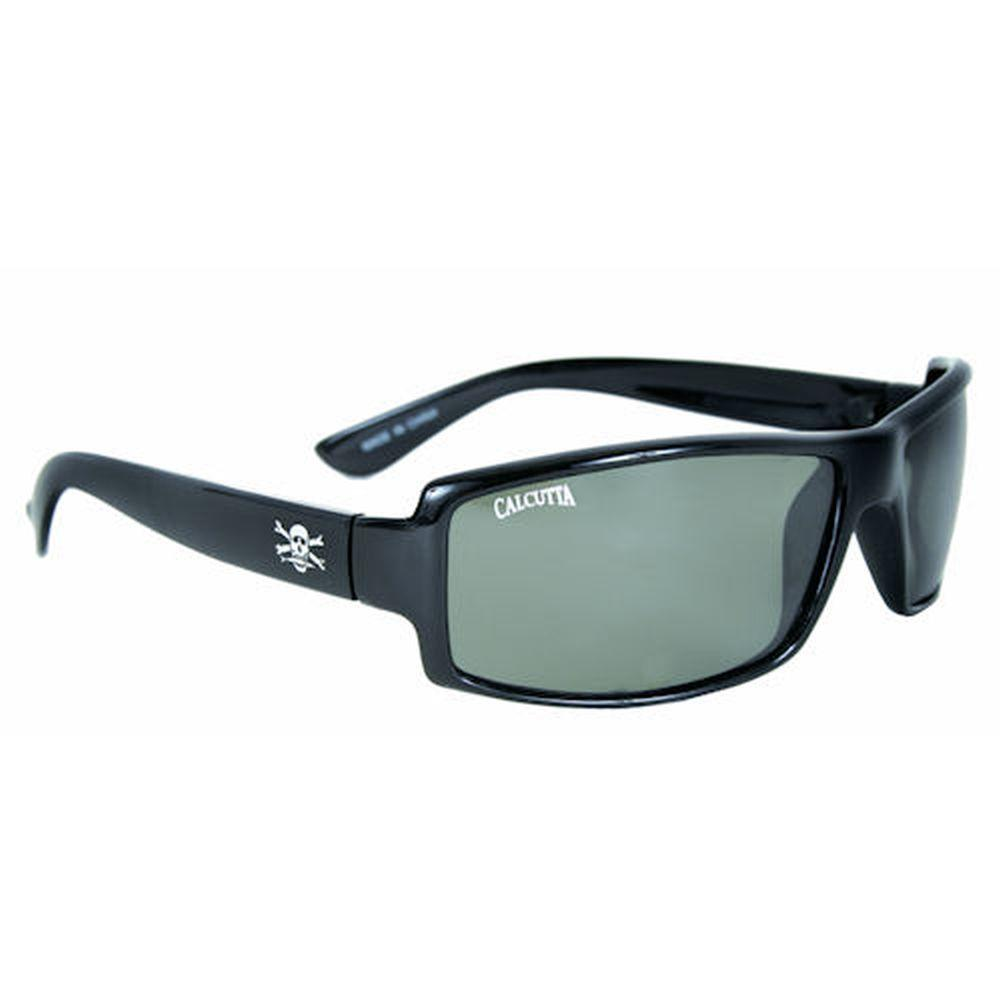 Black Frame New Wave Sunglasses with Gray Lenses