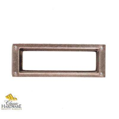 3.15 in. Old Iron Card Holder