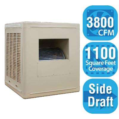 3,800 CFM Side-Draft Aspen Roof/Side Evaporative Cooler for 18 in. Ducts 1,100 sq. ft. (Motor Not Included)