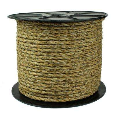 3/8 in. x 500 ft. Cotton Reel Rope, Natural