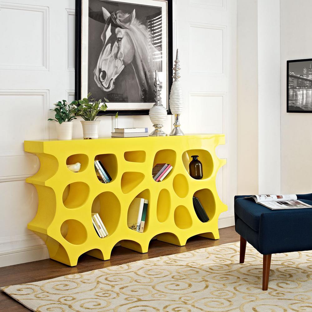 Wander Yellow Medium Stand
