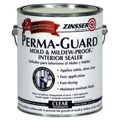 1 gal. Perma-Guard Mold and Mildew Proof Acrylic Clear Interior Primer and Sealer (Case of 2)