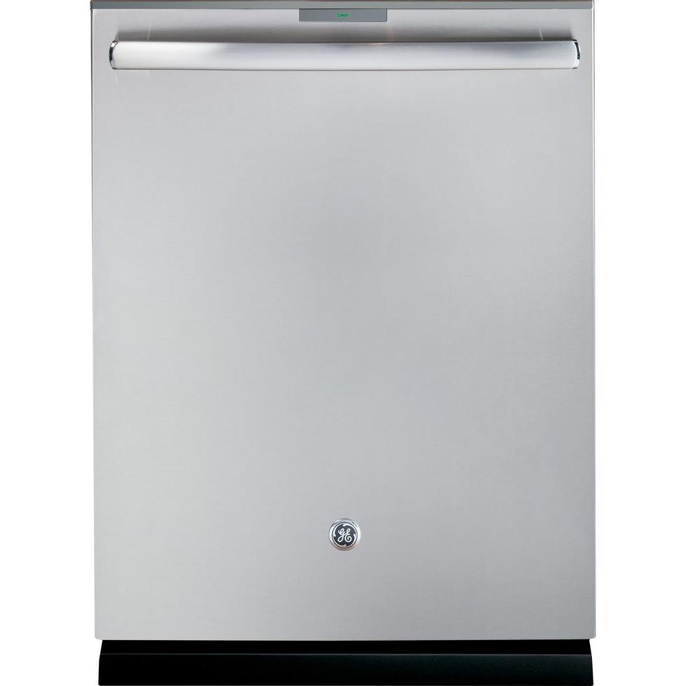 GE Profile Top Control Smart Dishwasher in Stainless Steel with Stainless Steel Tub and WiFi
