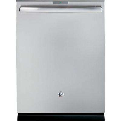 Profile Smart Top Control Dishwasher in Stainless Steel with Stainless Steel Tub, 40 dBA