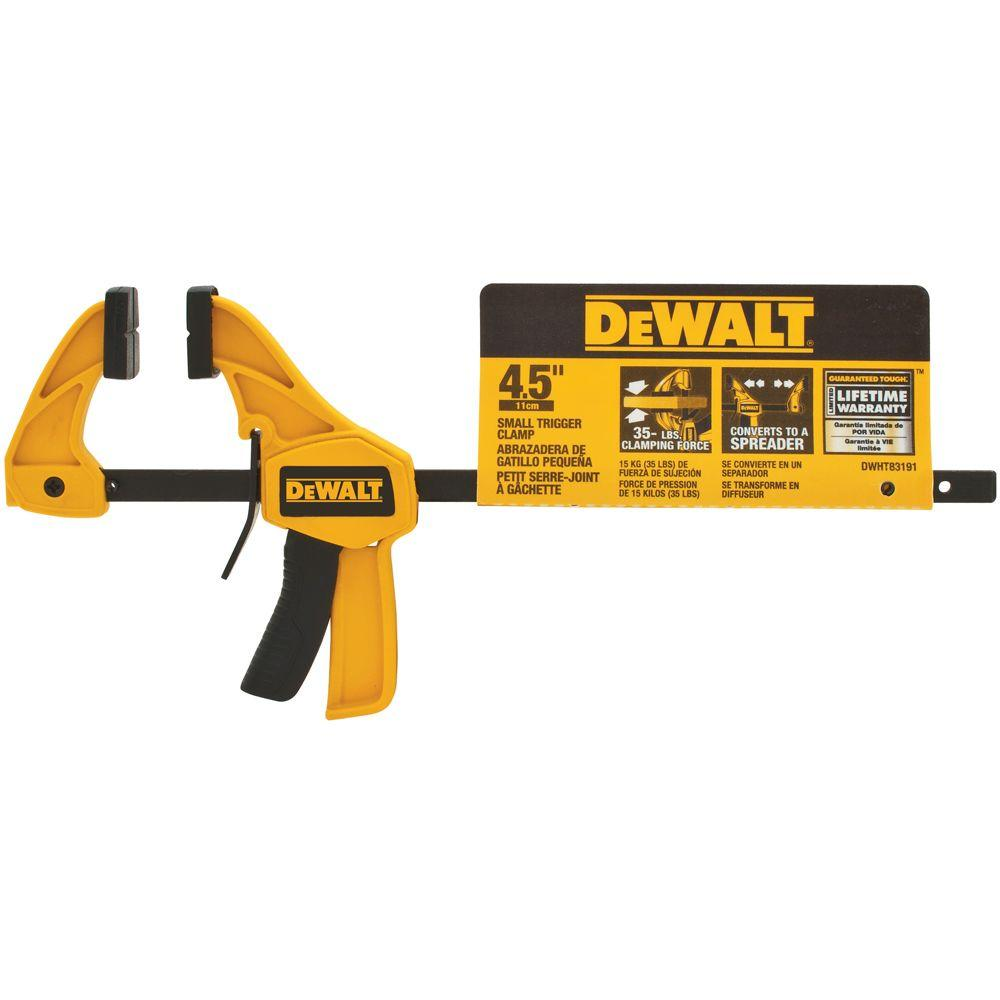 DEWALT 4.5 in. Small Trigger Clamp