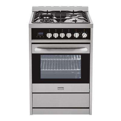 2.0 cu. ft. Dual Fuel Range with Convection Oven in Stainless Steel