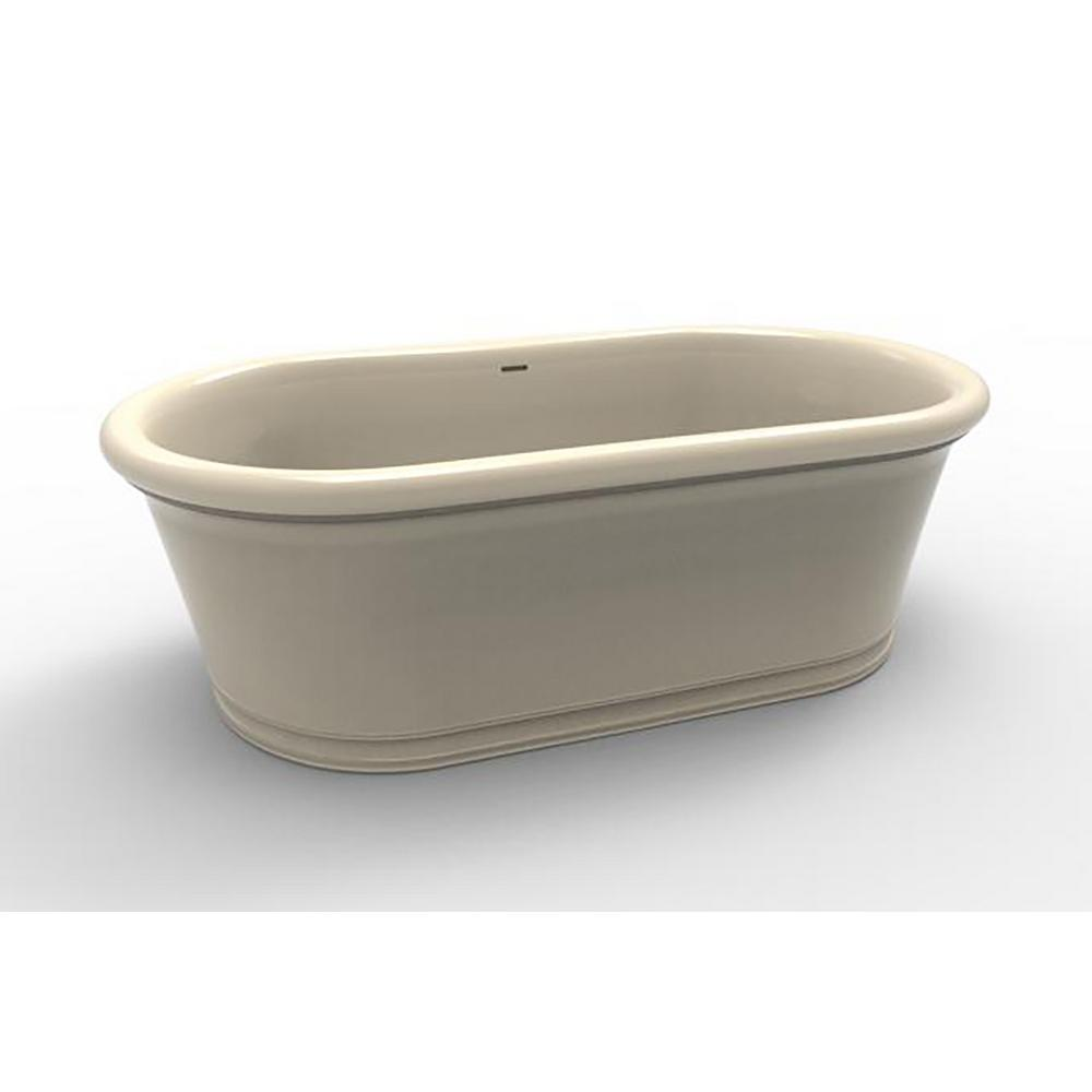 Hydro Systems Tribeca 5.8 ft. Solid Surface Flatbottom Non-Whirlpool ...