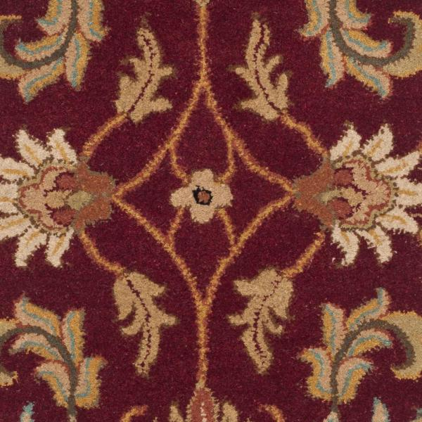 Safavieh Heritage Red Ivory 2 Ft X 3 Ft Area Rug Hg628d 2 The Home Depot