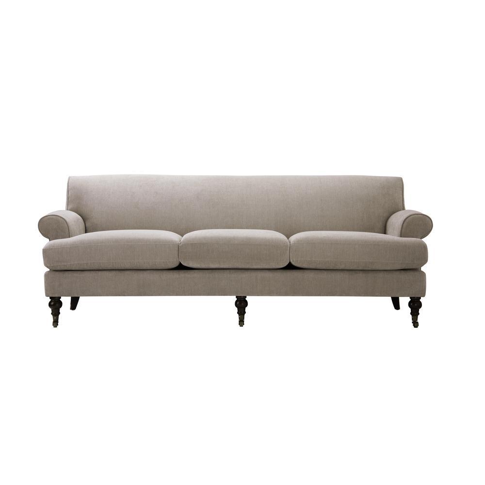 Alana Silver Grey Lawson Sofa