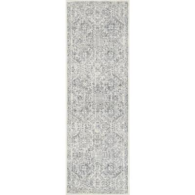 Minta Modern Persian Gray 3 ft. x 10 ft. Runner